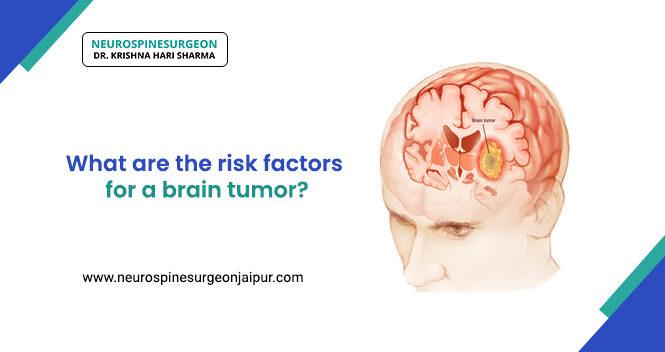 risk factors for a brain tumor